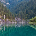 Загадочные места в Казахстане Мертвое озеро