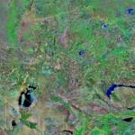 Как выглядит Казахстан со спутника?