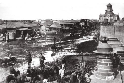 Соборная площадь. Начало ХХ века