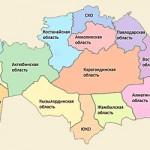 Области Казахстана