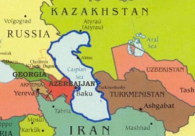 CaspianSeaRegionMap